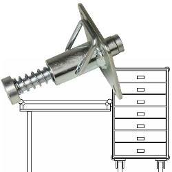 Table Mount Stud - Retracting