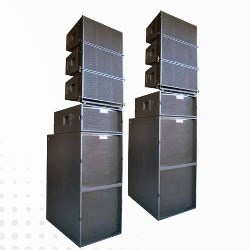 AX GROUNDSTACKED LINE ARRAY SYSTEM
