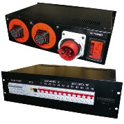 "19"" PDU, Elcentral, 3 fas-16A"
